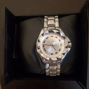 Karl Lagerfeld silver and gold Watch
